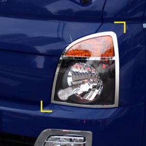Chrome Head Lamp Molding Covers Hyundai PORTERⅡ H100