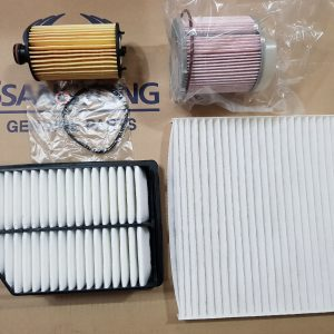 oil filter air filter fuel filter cabin filter