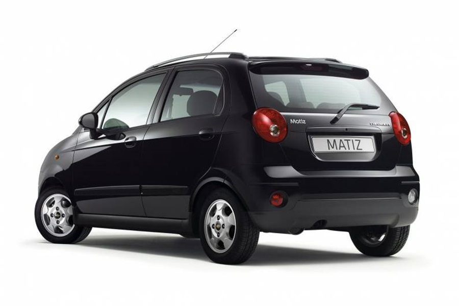 chevrolet matiz rear