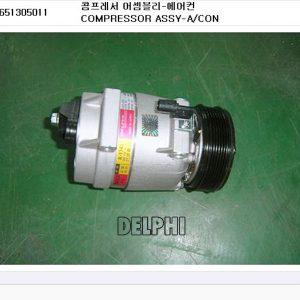 Genuine Air-con Compressor Single Delphi Ssangyong REXTON 662LA D27DT