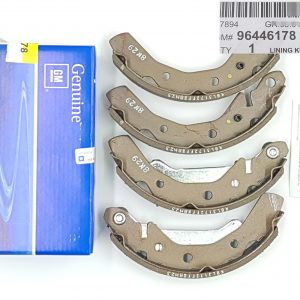 Genuine Rear Drum Brake Lining Kit for Chevrolet Matiz