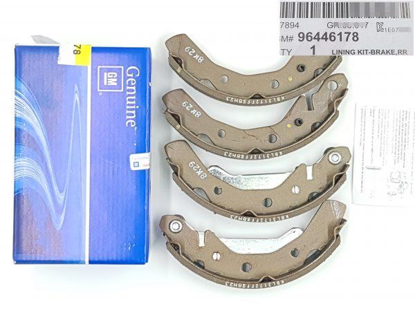 Genuine Rear Drum Brake Lining Kit for Chevrolet Matiz