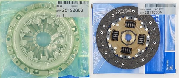 Genuine Clutch Kit Cover and Disc Chevrolet DAMAS LABO