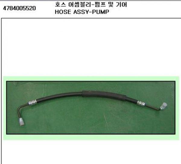 Genuine Pump and Gear Hose Ssangyong MUSSO E32