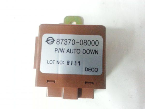 power window auto down control unit