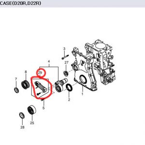Genuine Belt Tensioner 6719920075 KORANDO SPORTS, KORANDO C