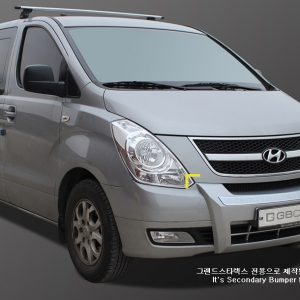 Tuning Front Bumper Protector for Hyundai GRAND STAREX i800 iMAX H1 ~2014