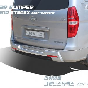 Tuning Rear Bumper Protector for Hyundai GRAND STAREX i800 iMAX H1