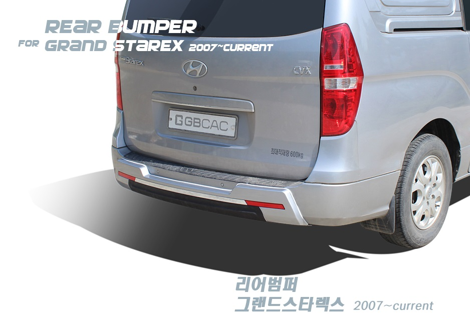 Tuning Rear Bumper Protector For Hyundai Grand Starex I800 Imax H1 By Ems