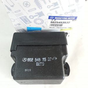 Genuine Preheating Time Relay 6625453532 Ssangyong ISTANA, MUSSO SPORTS