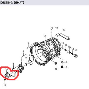 Genuine Concentric Slave Cylinder 3036032000 Ssangyong REXTON RODIUS