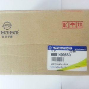 Genuine EGR Valve 6651400660 Ssangyong REXTON RODIUS EURO4