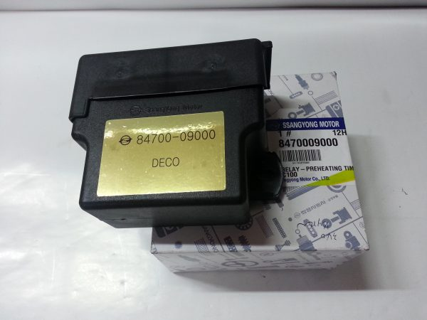 Preheating Time Relay 8470009000 Ssangyong ACTYON KYRON D20DT