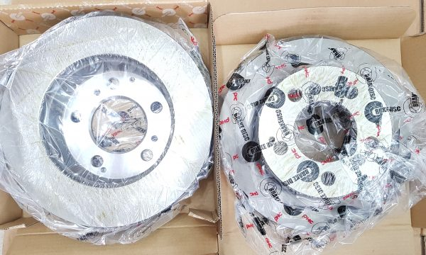 Front Disc Pair Made PHC for MB VAN 100 140 ISTANA All
