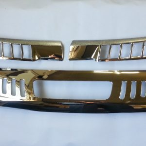 Chrome Cowl Cover & Rear Pillar Molding Ssangyong KORANDO