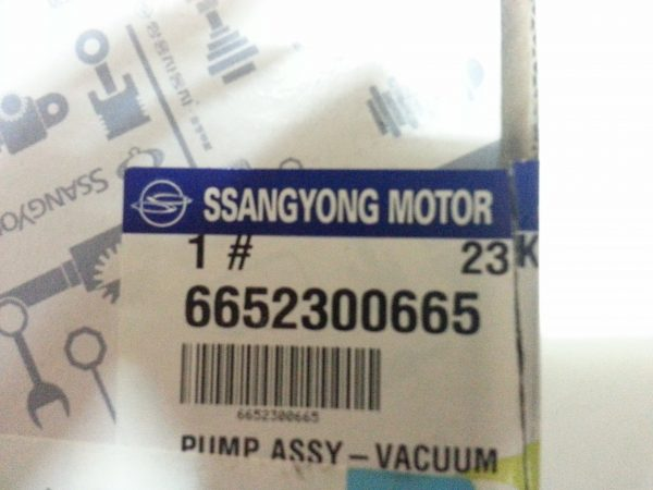 Ssangyong Genuine Vacuum Pump for Ssangyong STAVIC,ACTYON SPORTS D27DT D20DT