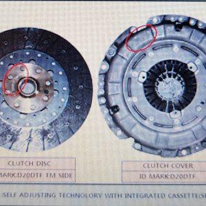 Genuine Clutch Disc&Cover kit for Ssangyong KORANDO C +D20F