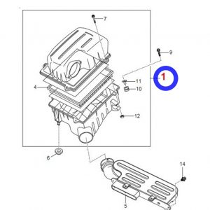 Genuine Air Cleaner Assembly for Ssangyong G4 REXTON, NEW MUSSO